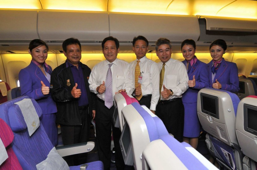 Thai Airways upgrades cabins on Boeing 747-400 aircraft