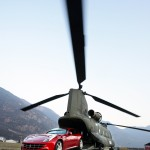 The Ferrari FF so practical it fits inside a Chinook helicopter