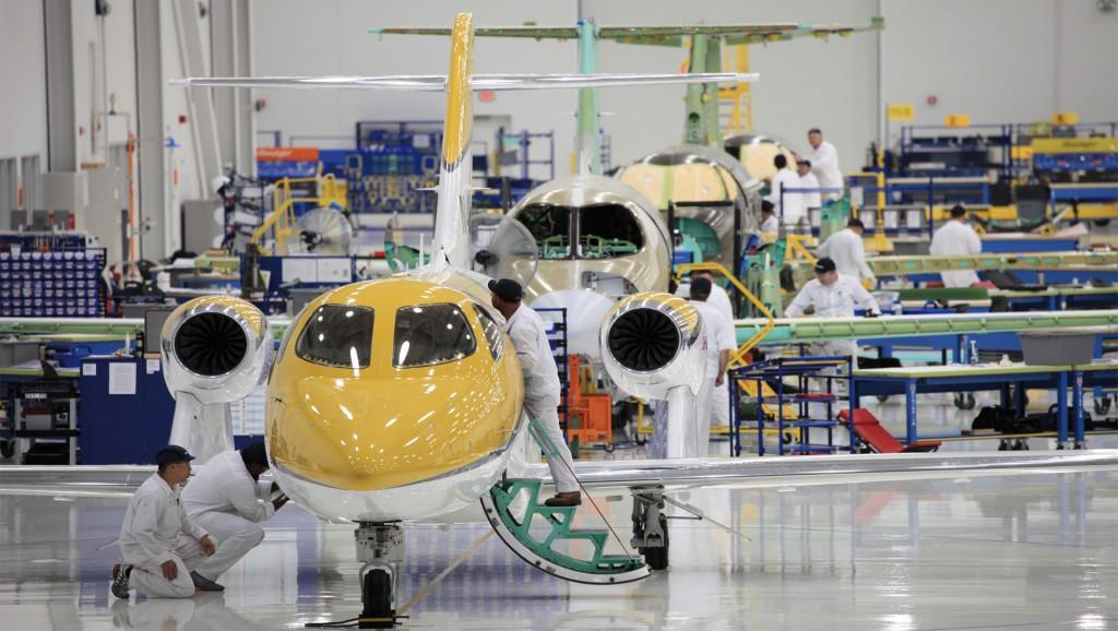 The Honda Aircraft Company begins HondaJet aircraft production