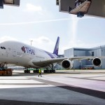 The first Airbus A380 for Thai Airways International