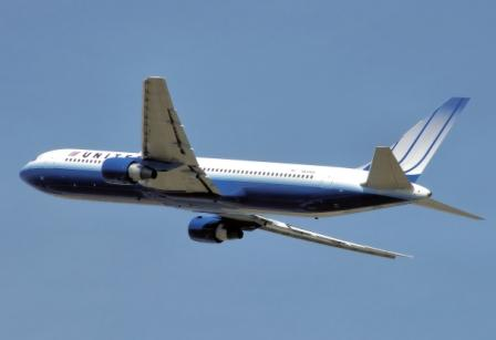United Airlines begin flights to Africa with Boeing 767