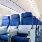 United Boeing 787 Dreamliner Economy Cabin Seats
