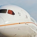 United Boeing 787 Dreamliner Aircraft Nose