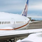 United Boeing 787 Dreamliner Aircraft Tail Livery