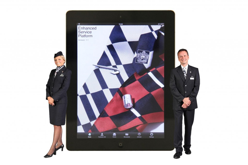 iPads on all British Airways aircraft to assist cabin crew role