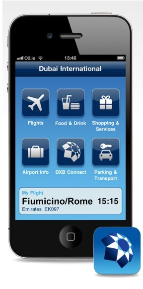 myDXB App to navigate around Dubai International Airport Terminals